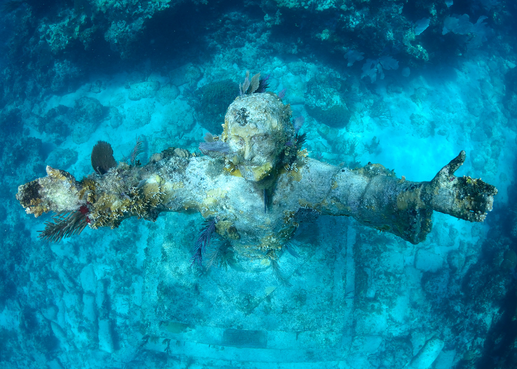 Christ of Abyss Key Largo Diving